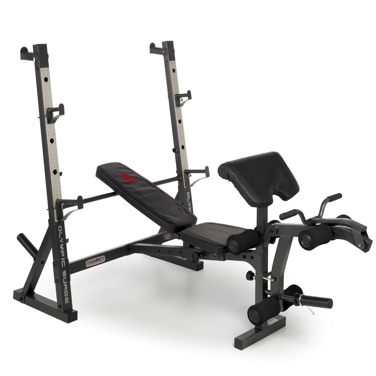 Squat Rack Bench Part - 19: The Marcy Diamond Elite Olympic Weight Bench With Squat Rack For £275.00.