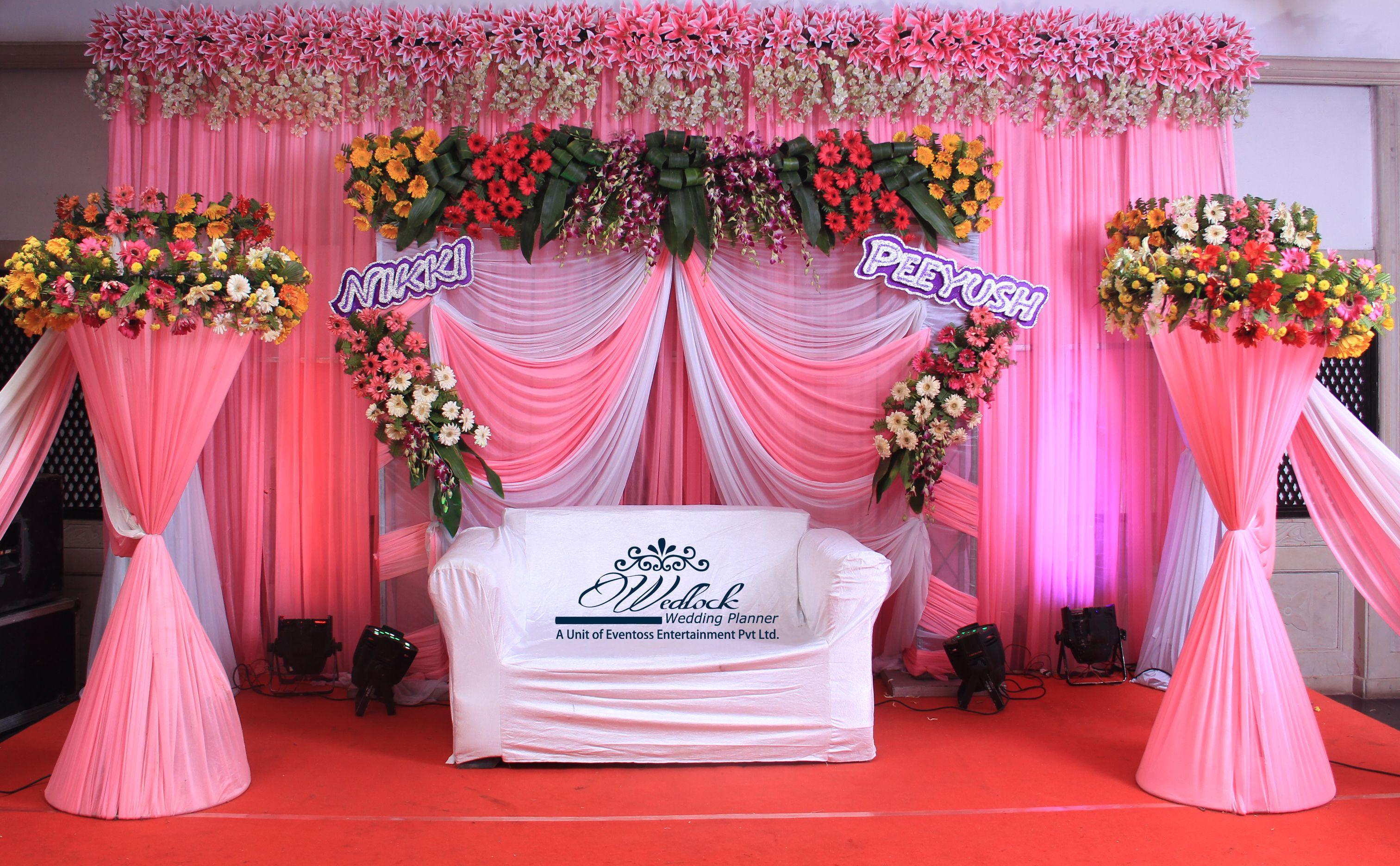 Soft salmon pink theme #Indian #wedding #salmonpink #roses ...