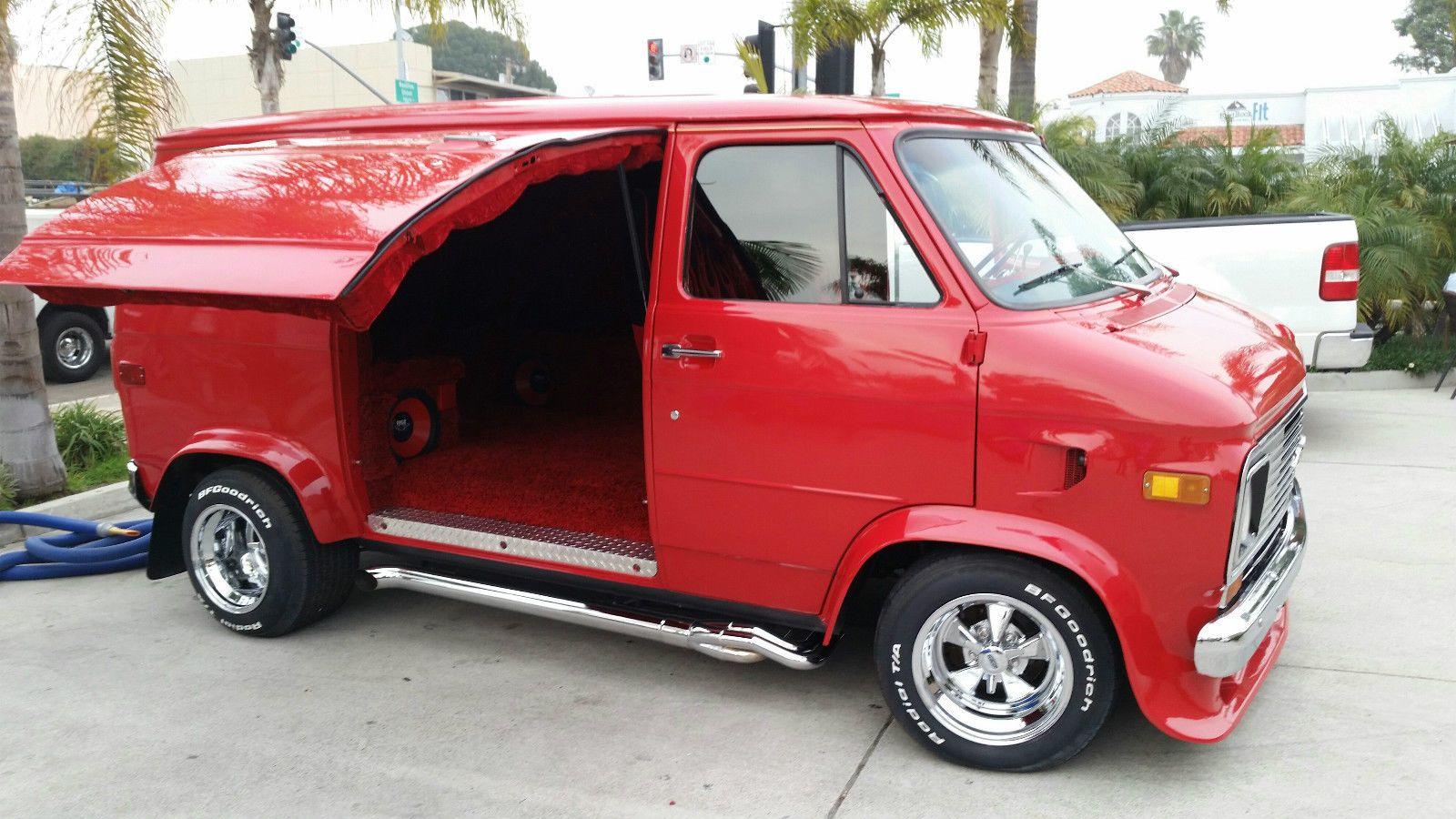Chevrolet G20 Van Cargo Van Vans Custom Vans Cool Vans