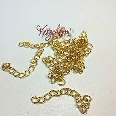 Chainette d'extension de bracelet ou collier