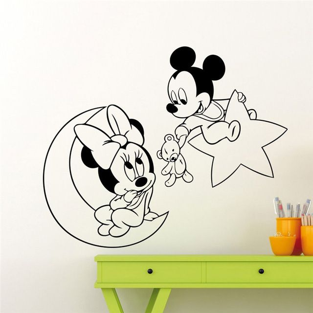 16+ Minnie mouse wall decor inspirations