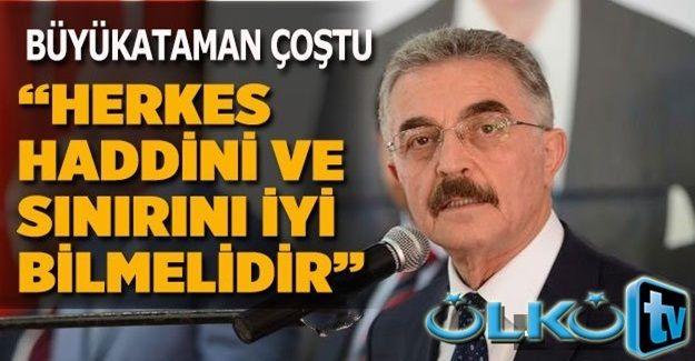 MHP'de Bahçeli'den Sonra İsmet Büyükataman'da Muhalif İsimlere Fena Cattı
