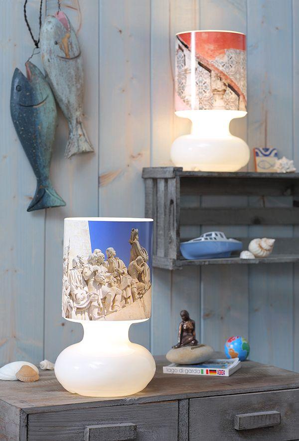 Schlichte Ikea Lampen Beklebt Mit Foto Prints Ikea Hack Ikea