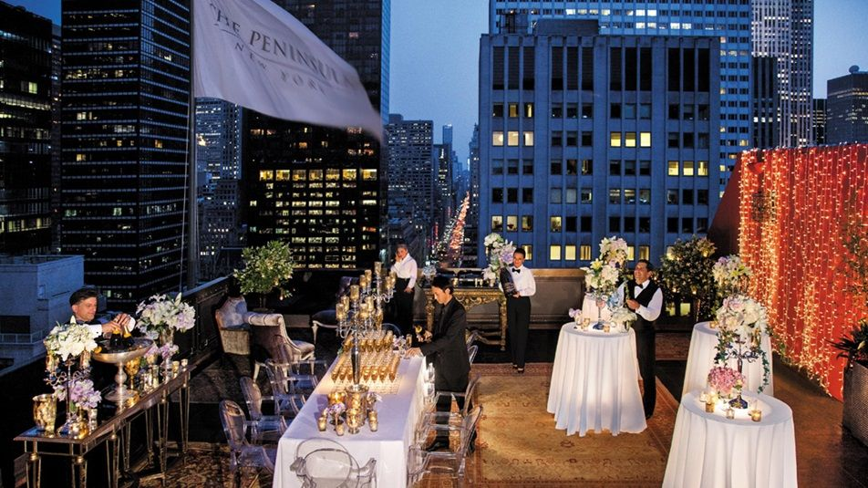 Dramatic Rooftop Weddings Rooftop Wedding Strictly Weddings