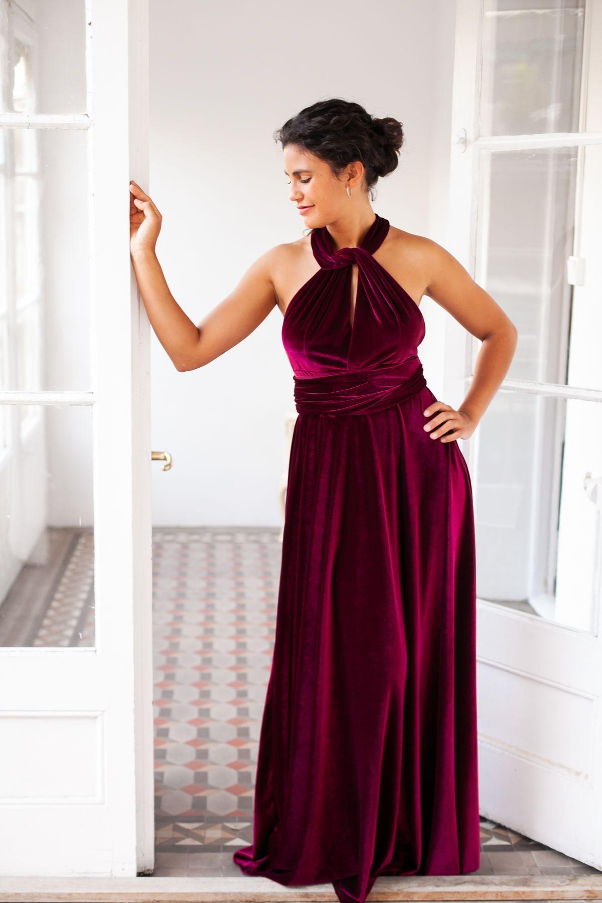 This Item Is Unavailable Etsy Velvet Bridesmaid Dresses Red Velvet Prom Dress Burgundy Bridesmaid Dresses [ 1800 x 1200 Pixel ]
