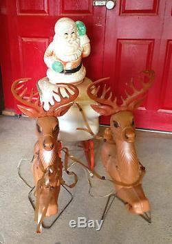 sliegh Vintage santas