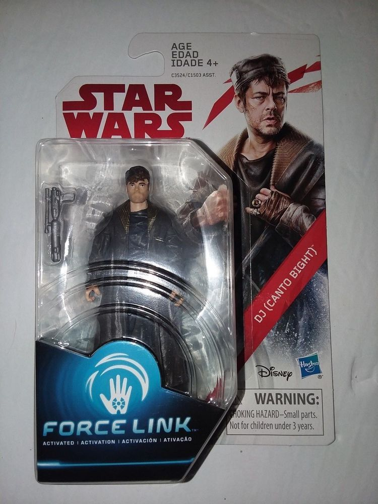 DJ Canto Bight Force Link Figure The Last Jedi Collection Star Wars-IN HAND!!!