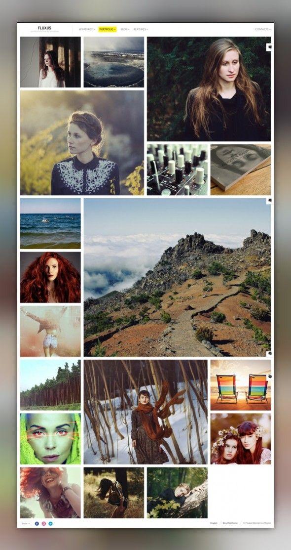 Napoli - Modern Photography Portfolio Theme on Behance