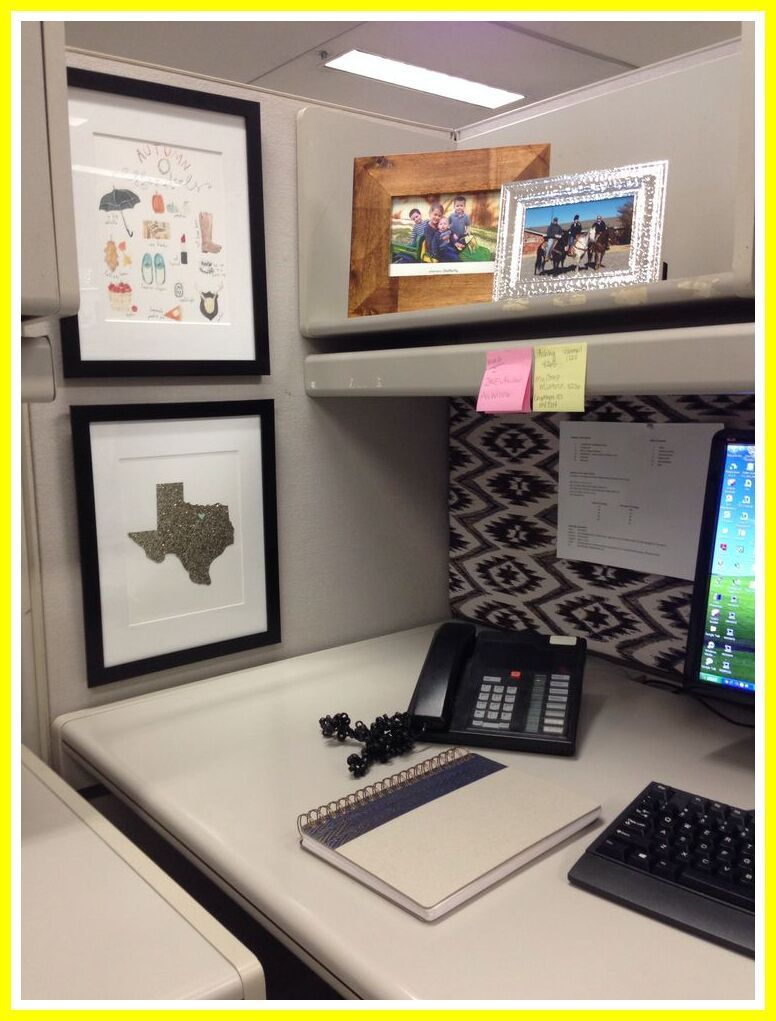 105 Reference Of Cubicle Desk Decor Office In 2020 Cubicle Decor