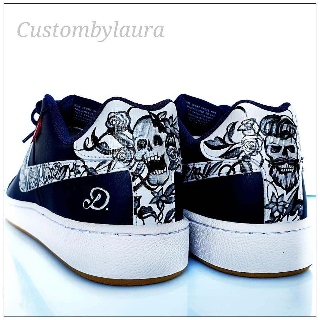 Basket tête de mort in 2020 | Skull shoes, Shoes, Skull