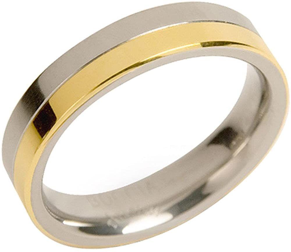Boccia Diamant-Ohrstecker Titan goldplattiert