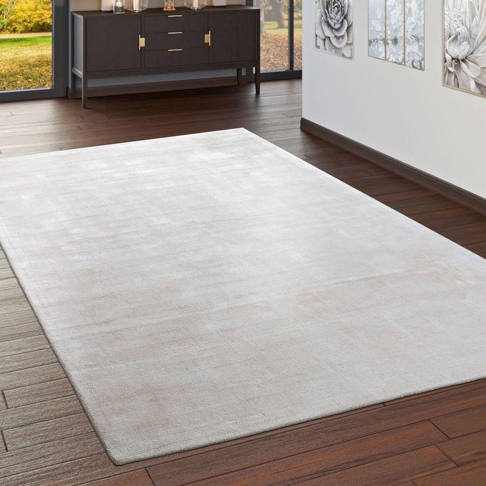 Teppich Handgefertigt Vintage Creme Teppich, Teppich