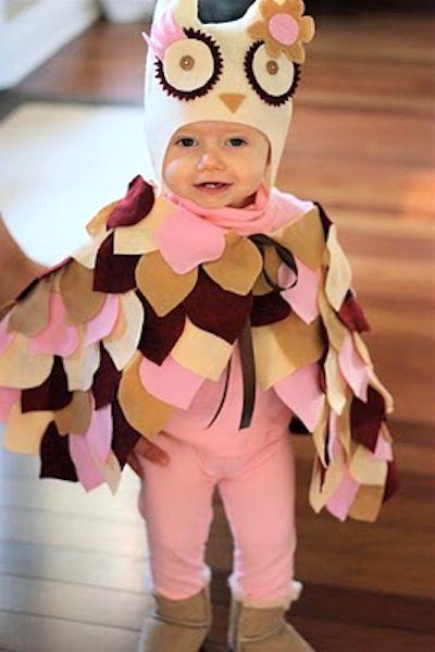 20 Kids Halloween Costumes to Make Felt owls, Felting and Owl