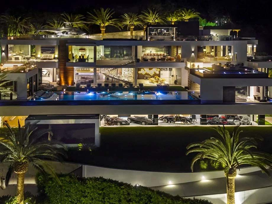 Esta Es La Casa Mas Cara Del Mundo Te Recomendamos Que No Veas Estas 20 Fotos Viral Houses In America Expensive Houses Bel Air Mansion
