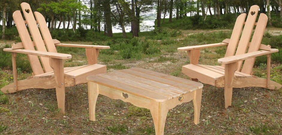 Mobilier de jardin en bois salon de jardin outdoor chairs picnic table et outdoor decor - Mobilier de jardin bois ...