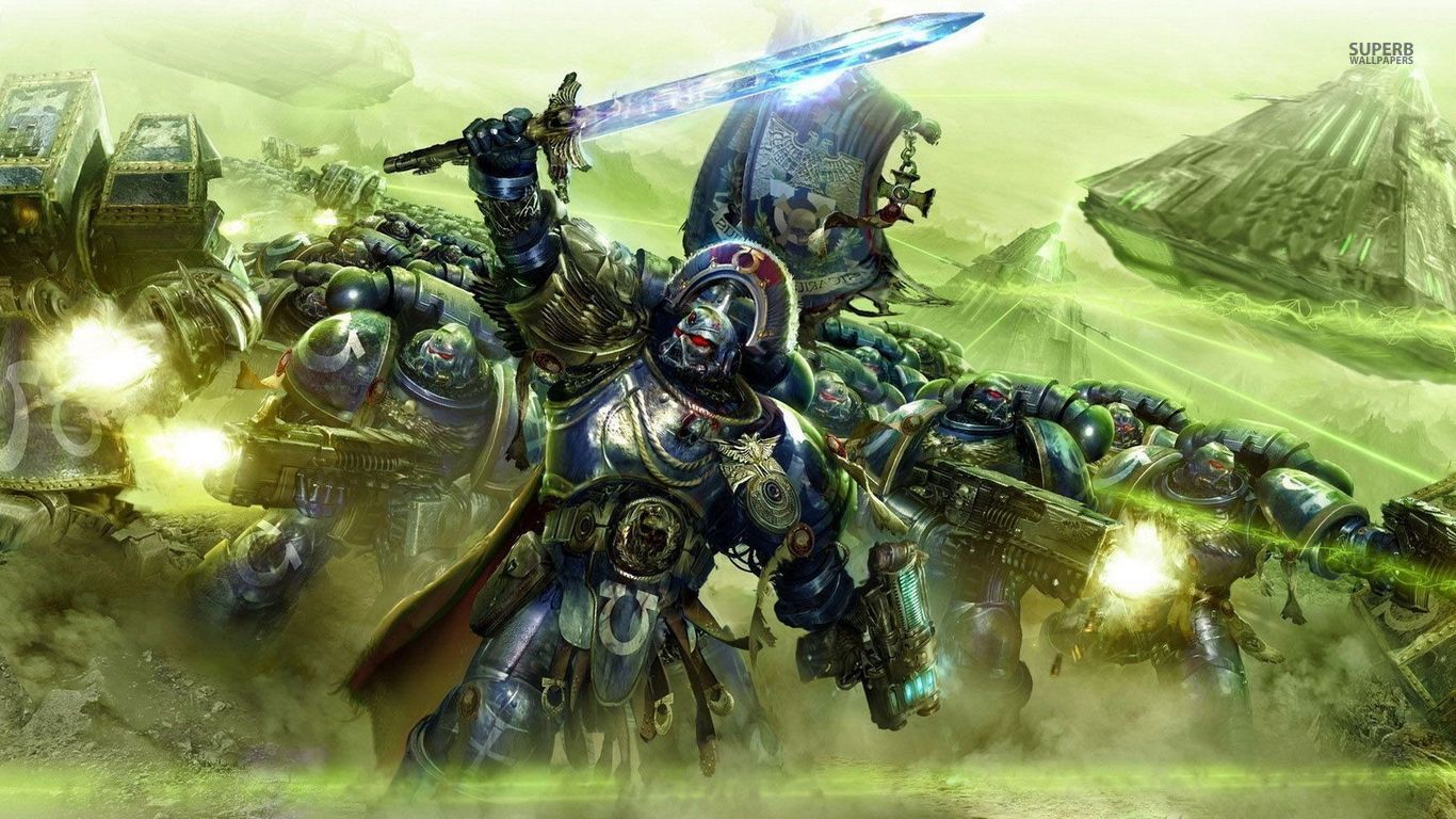 ultramarines - warhammer 40,000 wallpaper | art | pinterest