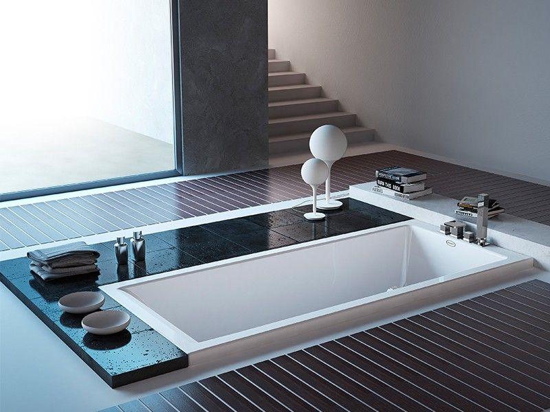 JACUZZI® MOOVE VASCA INCASSO 170X70 - Iperceramica | Vasche da bagno ...