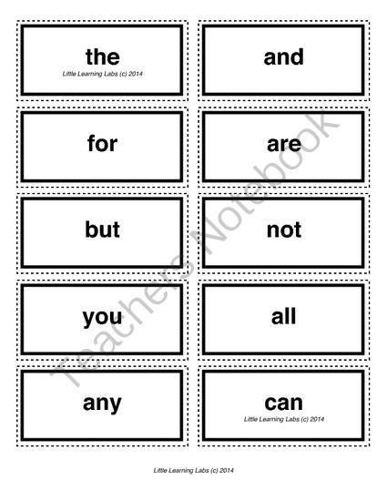 3-letter vocabulary spelling sight words cards for prek primary kindergarten from Velerion Damarke on