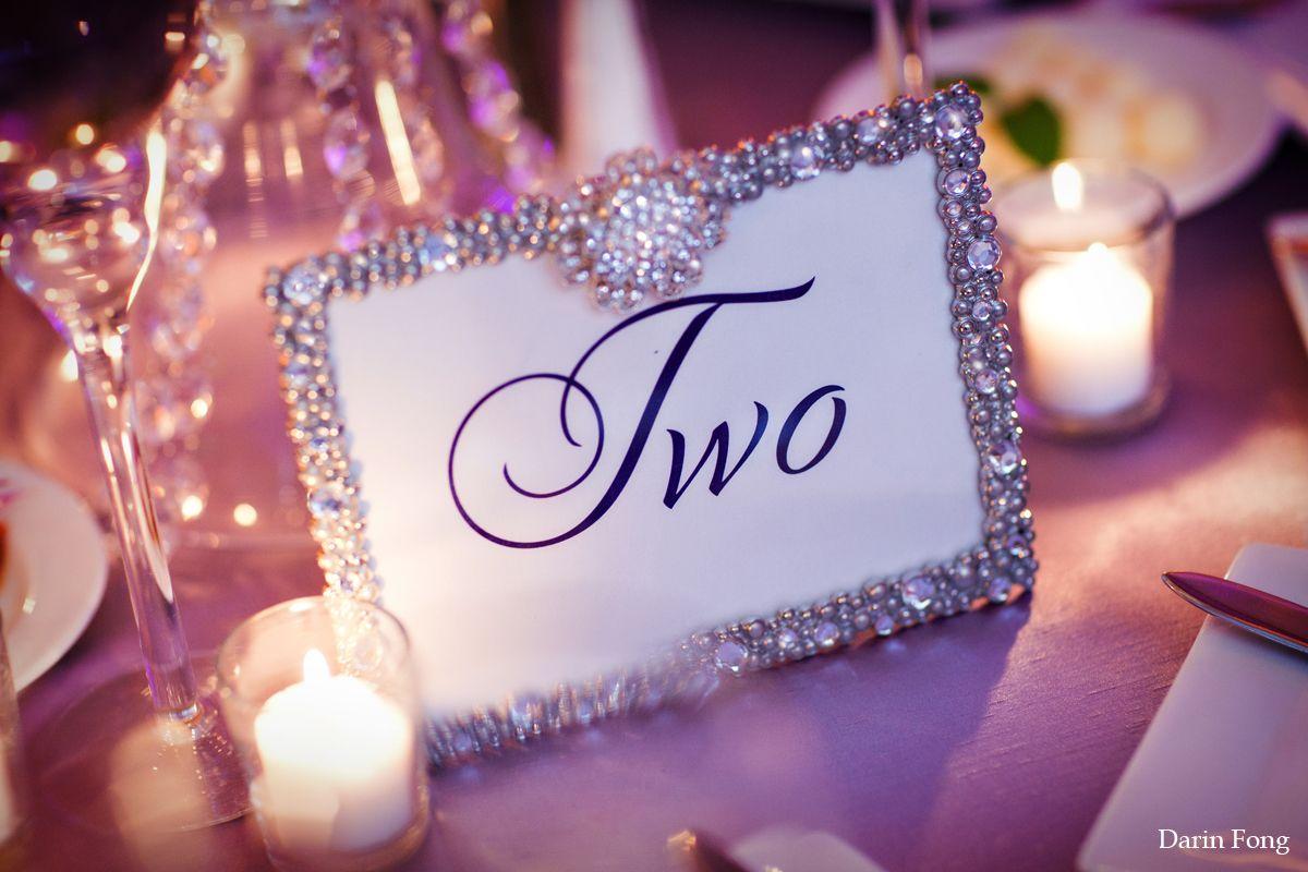 Crystal-rhinestone-table-frame-weddings | wedding venues | Pinterest ...