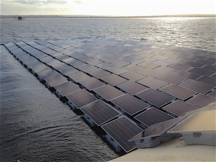 World S Largest Floating Solar Farm To Provide 10 Million People With Clean Drinking Water Solar Farm Solar Solar Panels