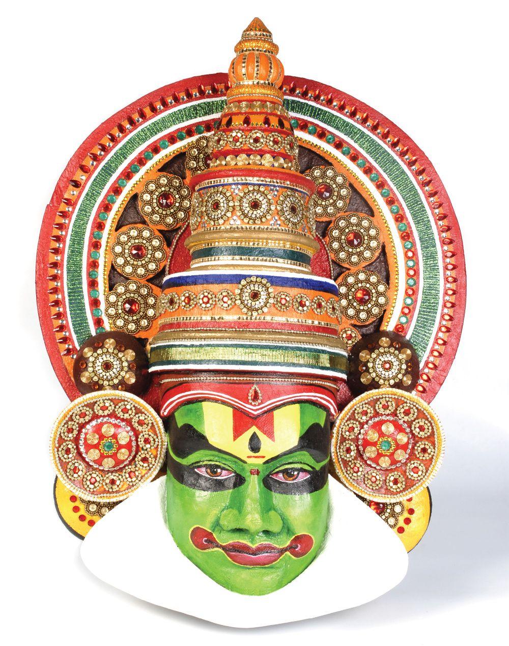 Kathakali Pattern Adapt To Jewellery Pinterest