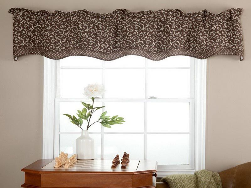 Window Valance Ideas For Bedrooms Purple Kitchen Curtains