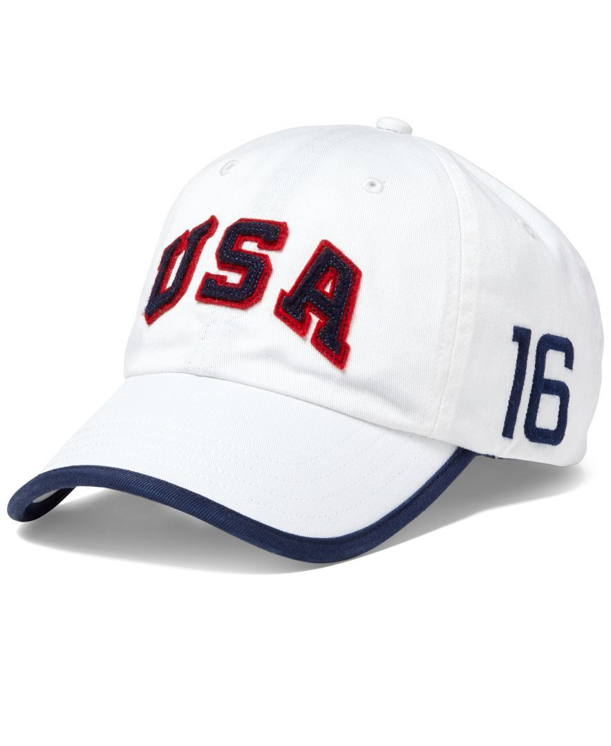 Polo Ralph Lauren Men s Team Usa Sports Cap   Products   Pinterest 29c65678f93