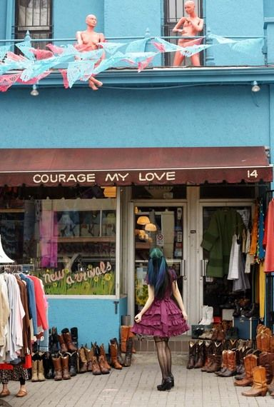 Vintage Shops And Gothic Rock In Toronto Vintage Hipster Vintage Shops Queen Street West