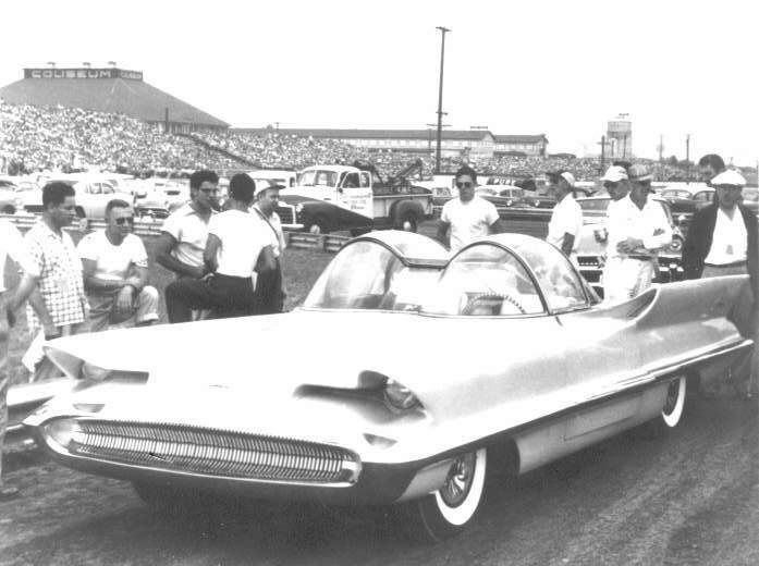 1955 Lincoln Futura Concept Before It Was The Batmobile It Was A