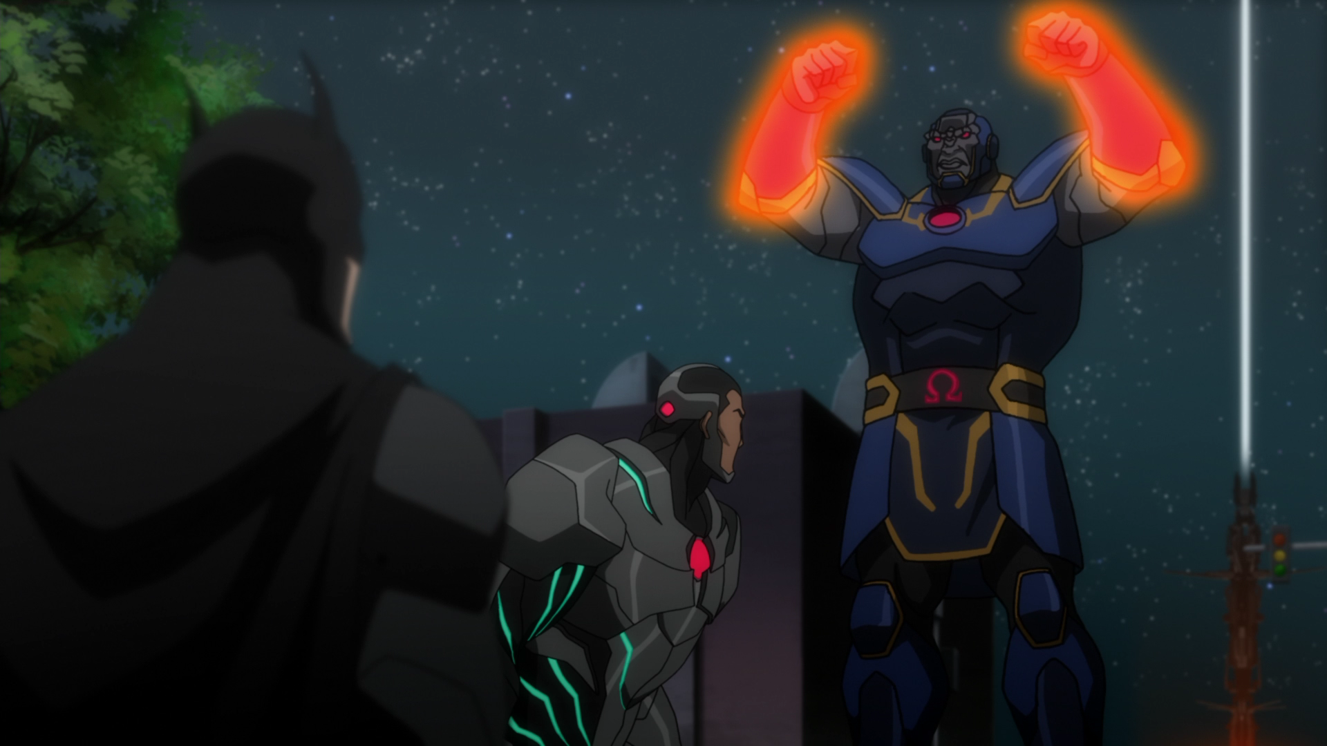 Justice League: WAR - Batman and Darkseid