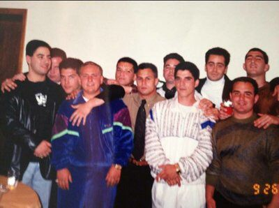 BATH AVE CREW   Back in 90, from.left to right, tommy reynolds,willie galloway,paulie gulino,albert slavin, carlo, mario russo,Jimmy Calandra,joey calco ,dean benasillo,fabrizio defransici, johnny smash