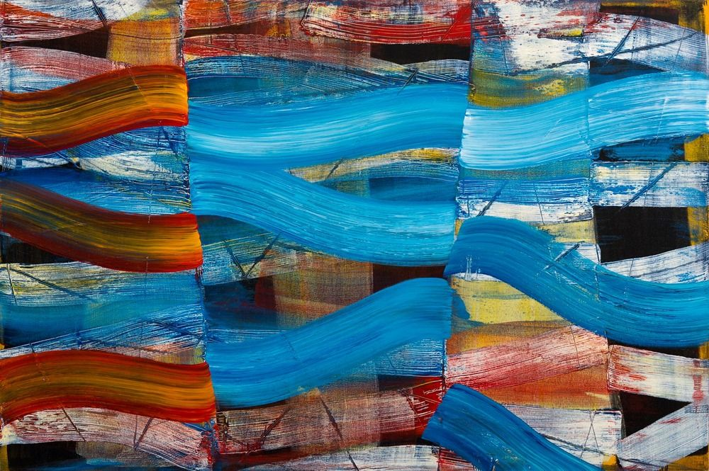 4 x 6 chicago artists abstract painting abstract