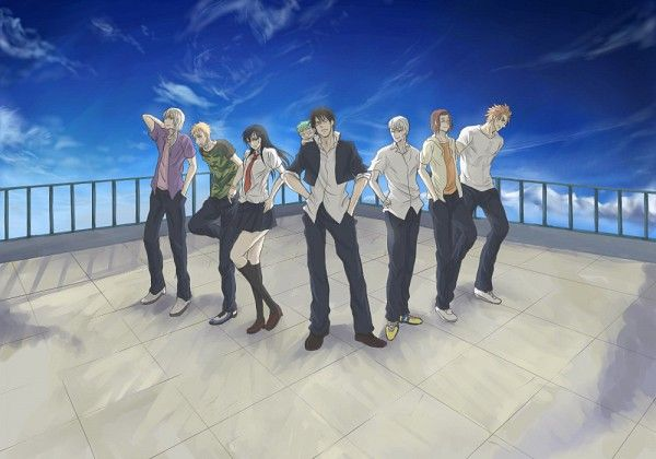 Tags: Anime, Pixiv Id 877212, Beelzebub, Oga Tatsumi, Furuichi Takayuki, Toujou Hidetora, Kunieda Aoi