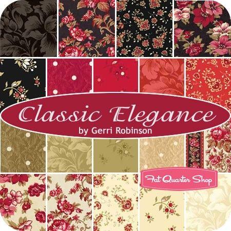 Classic Elegance Yardage<br />Gerri Robinson for Red Rooster Fabrics