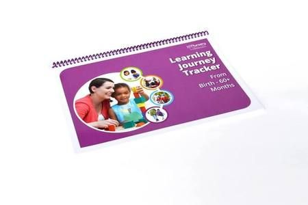 Nursery Resources\u0027 My Learning Journey Tracker - by Age guidebook