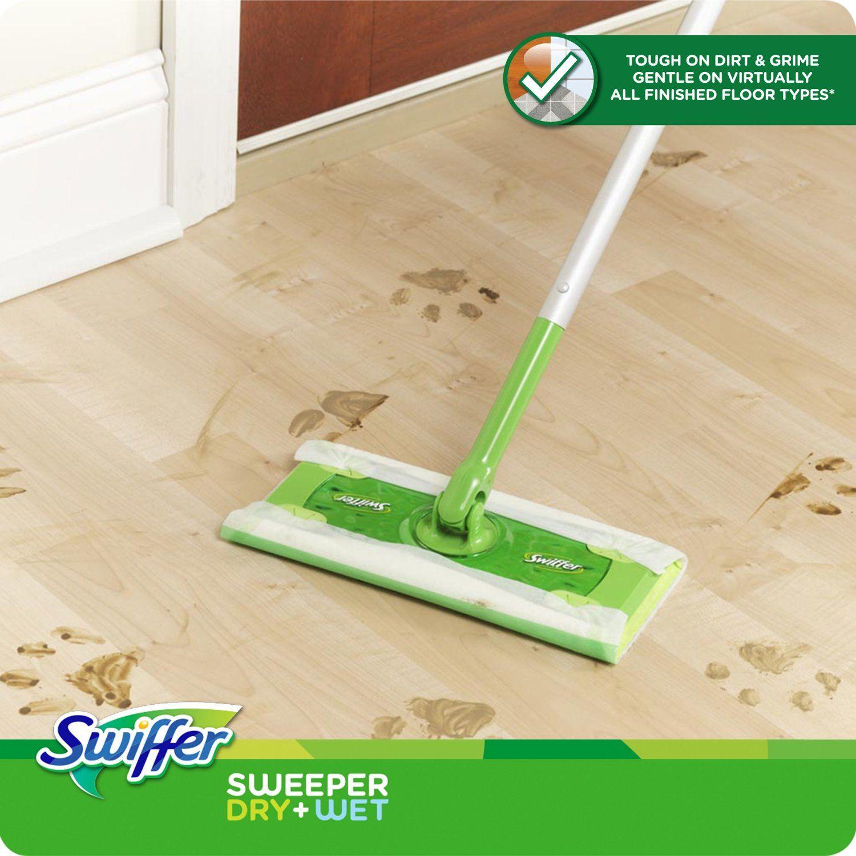 Reviewing The Swiffer Sweeper Floor Mop Clean Hardwood Floors Flooring Vacuum For Hardwood Floors