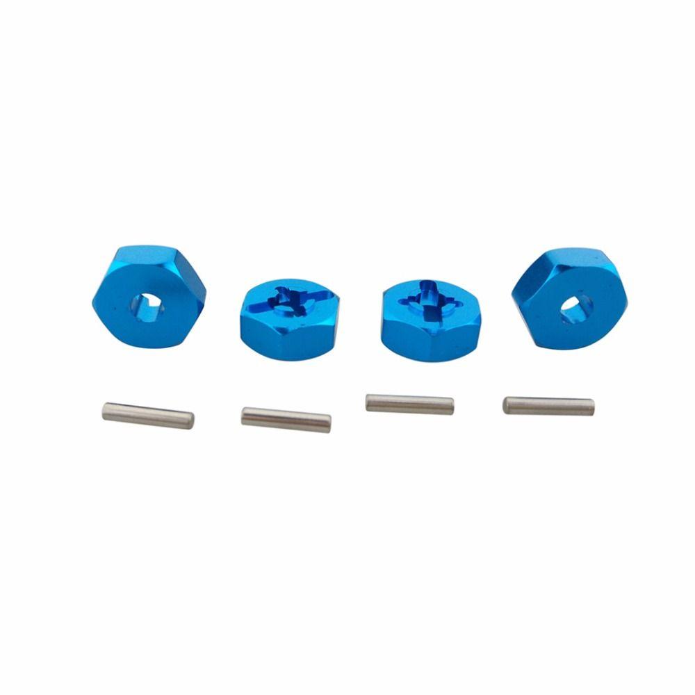 B toys car wheel  pcs mm Aluminum Wheel Hex Mount Hub For WLtoys A A A A