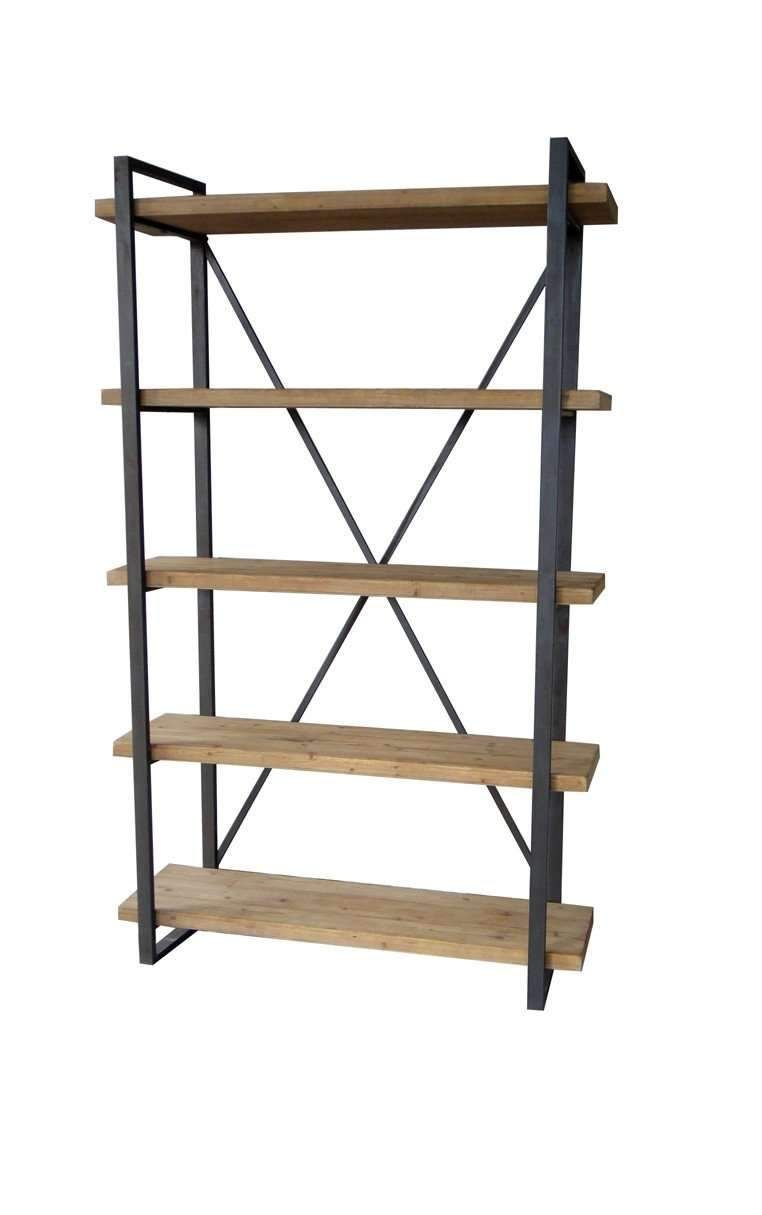 Lex 5 Level Shelf Moe S Home Collection Industrial Bookcases