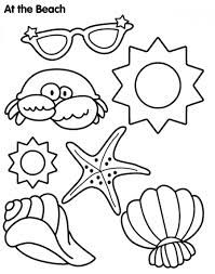 Easy Coloring Pages About The Ocean Google Search Summer Coloring Pages Summer Coloring Sheets Beach Coloring Pages