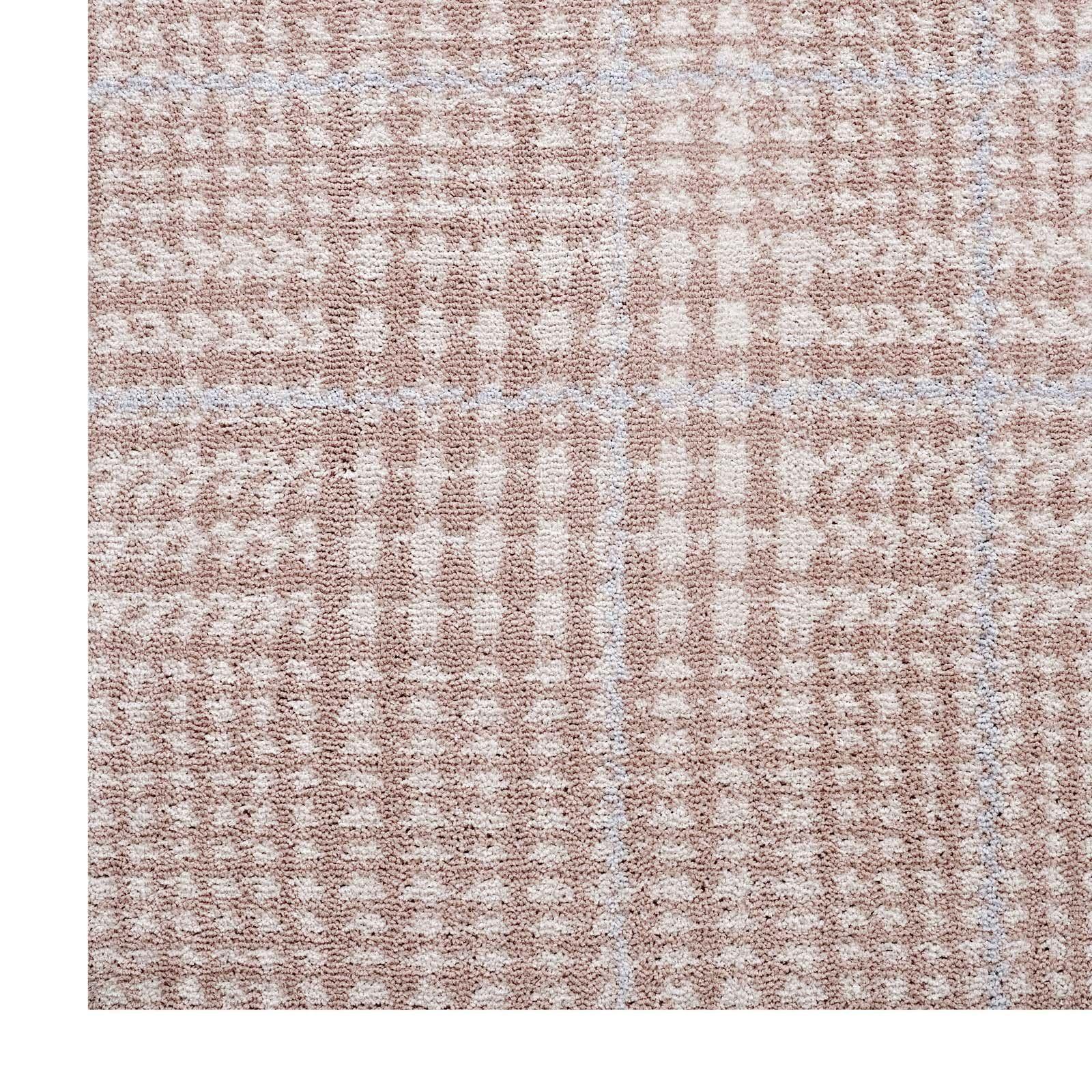 Minimal & Modern Kaja Abstract Plaid 8X10 Area Rug