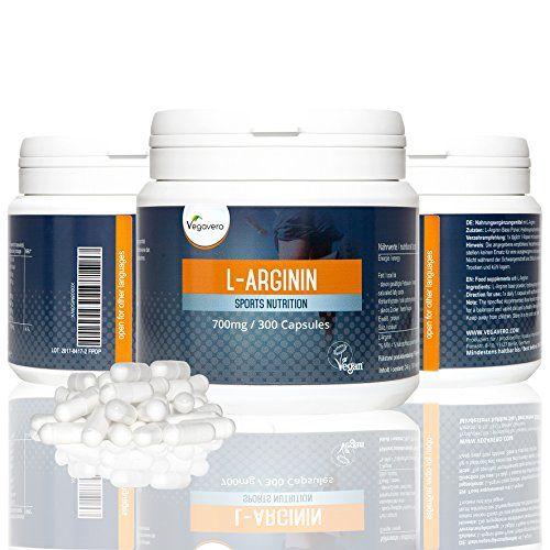 L – Arginina Vegavero | 300 capsule – 700 mg | Integratore naturale di L Arginina – completamente vegetale | Purezza Certificata | Vigore sessuale – Crescita muscolare – Bruciatore grasso | Qualitá Tedesca | Garanzia soddisfatti o rimborsati