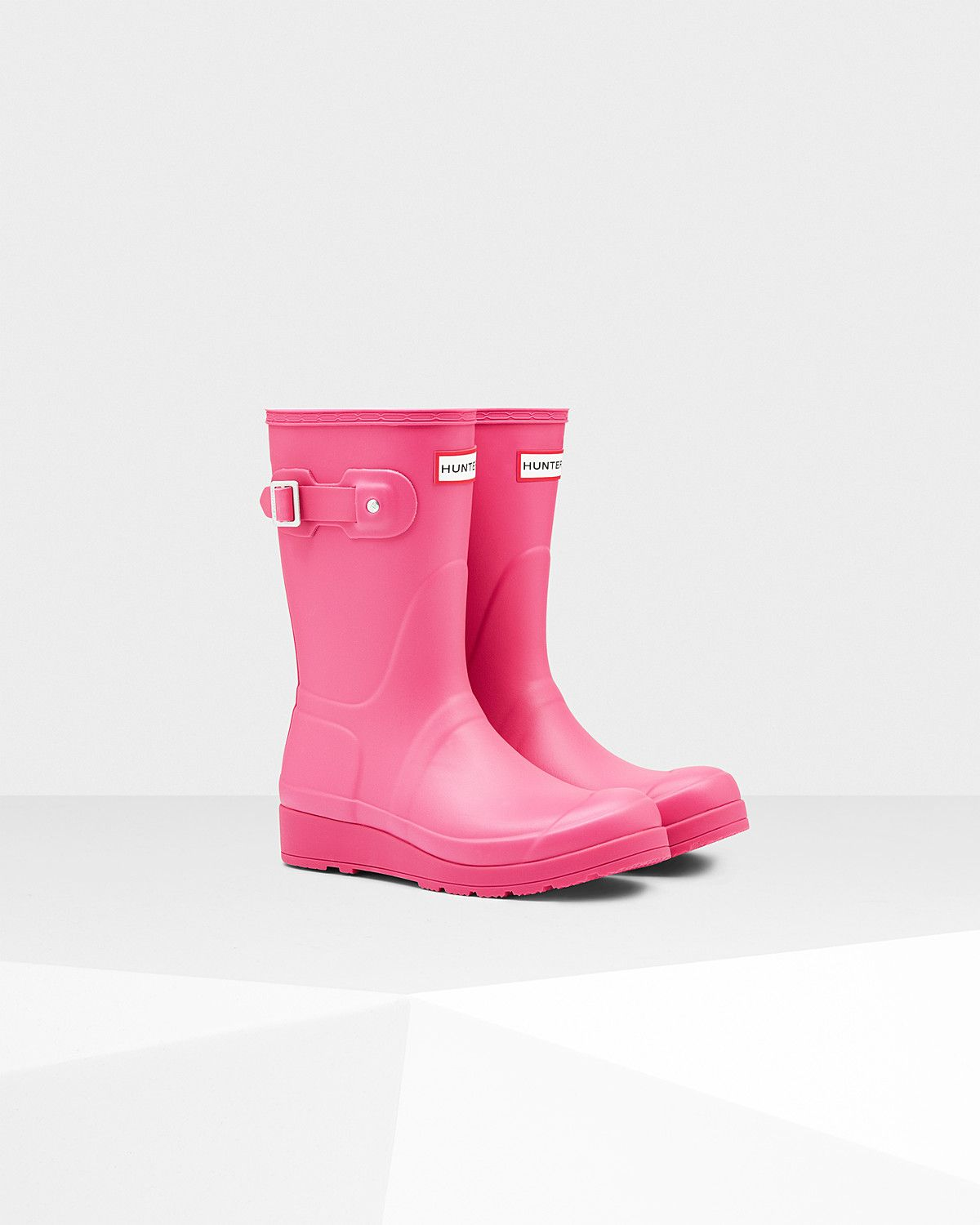 The Original Short Wellington boot is handcrafted from rubber in the same form…