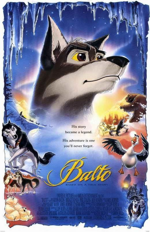 Balto Movie Poster 27 X 40 Kevin Bacon Bob Hoskins A Licensed