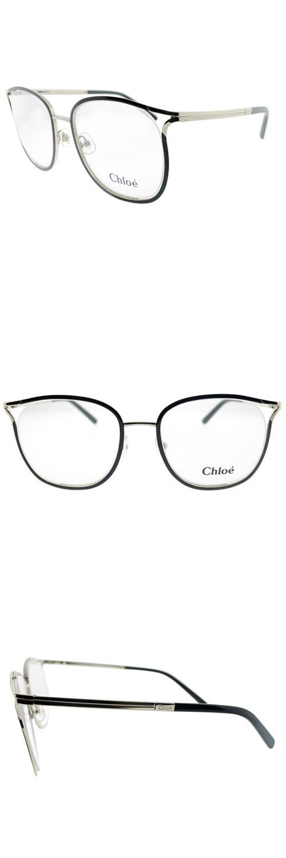 db205c91b29 Fashion Eyewear Clear Glasses 179248  Chloe Ce 2127 752 Gold Black Metal Square  Eyeglasses 53Mm -  BUY IT NOW ONLY   129.99 on eBay!