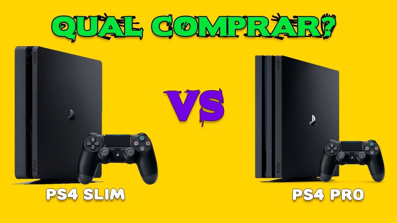 Ps4 Slim X Ps4 Pro Comparativo Esclarecendo As Duvidas Ps4