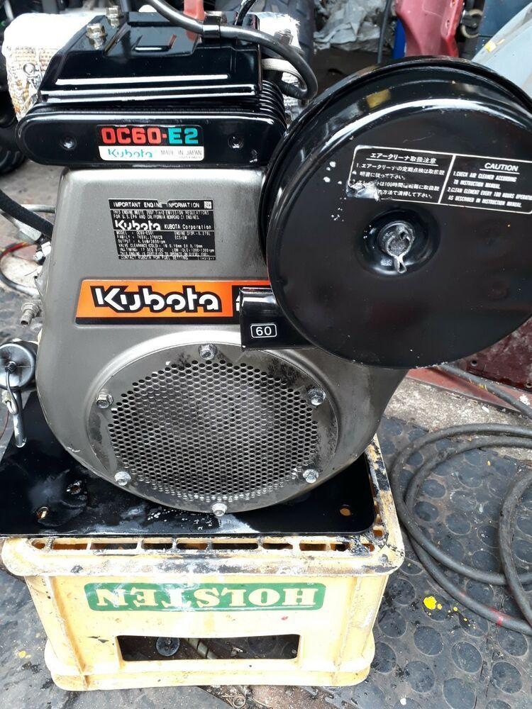 6 hp Kubota single cylinder diesel Engine type OC60-02