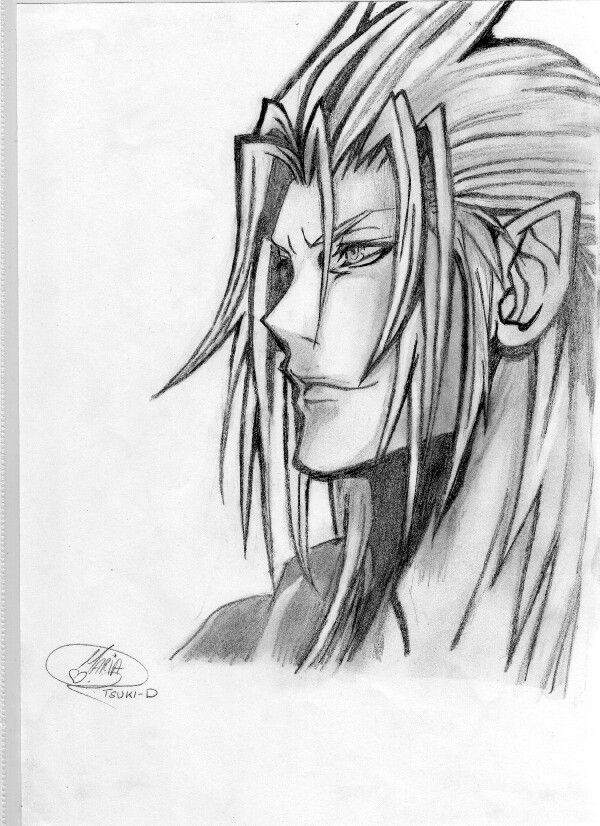 Xemnas Drawing 3 Kingdom Hearts 3 Pinterest Kingdom Hearts