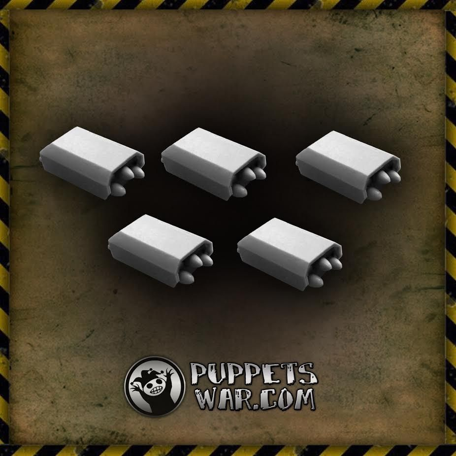 Our today's new release: Rocket Points Fully compatible with weapon mounts on our vehicles.  https://puppetswar.eu/product.php?id_product=647