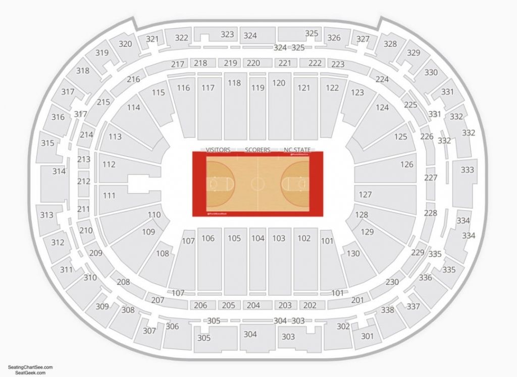 Amazing as well as Stunning pnc arena seating chart
