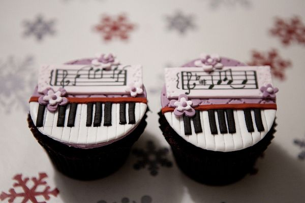 The Piano (1993) | Community Post: Academy Award Cupcakes